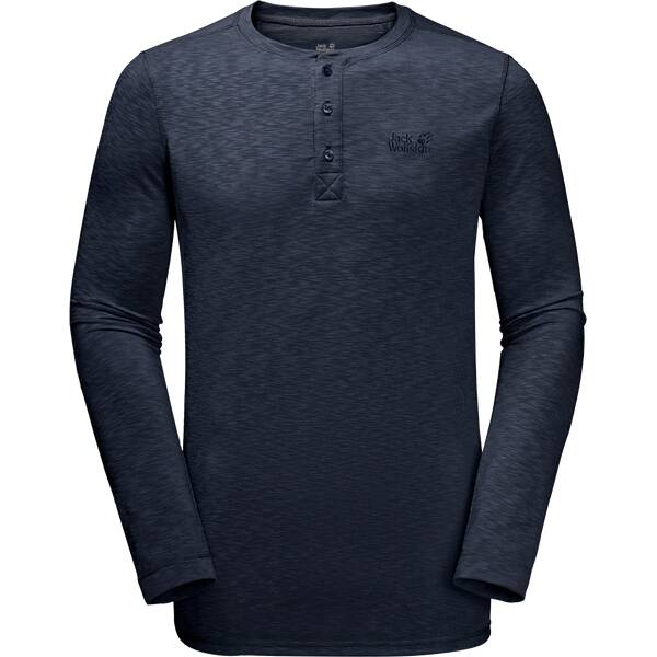 JACK WOLFSKIN Herren Shirt Winter Travel Henley