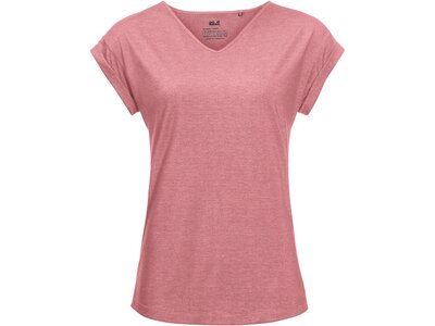 JACK WOLFSKIN Damen T-Shirt CORAL COAST T W Pink