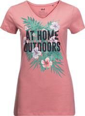 JACK WOLFSKIN Damen T-Shirt AT HOME T W
