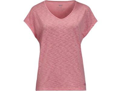 JACK WOLFSKIN Damen Shirt TRAVEL Pink