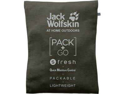JACK WOLFSKIN Damen Shirt JWP 3/4 Grau