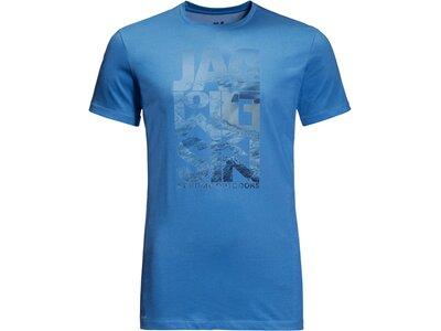 JACK WOLFSKIN Damen Shirt ATLANTIC OCEAN Blau
