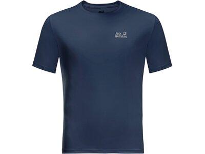 JACK WOLFSKIN Herren Shirt TECH Blau