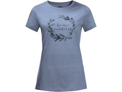 JACK WOLFSKIN Damen Shirt AT HOME T Grau