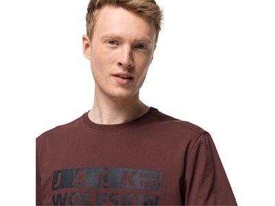 JACK WOLFSKIN Herren Shirt BRAND T M Braun