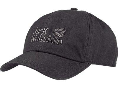 JACK WOLFSKIN Kunstfaserjacke Baseball Cap Grau