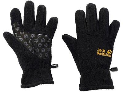 JACK WOLFSKIN Kinder Handschuhe FLEECE GLOVE KIDS Schwarz