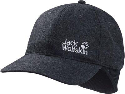 JACK WOLFSKIN Herren Base Ear Cap Grau