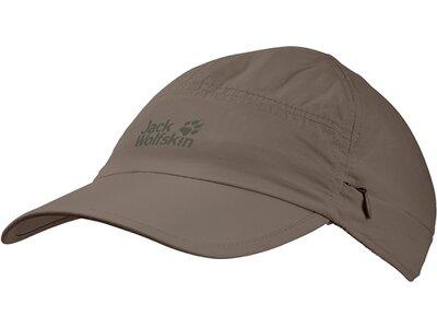 "JACKWOLFSKIN Cap ""Supplex Canyon"" Braun"