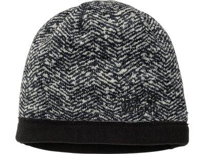 JACK WOLFSKIN Damen Mütze BELLEVILLE CROSSING CAP WOMEN Schwarz