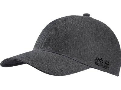 JACK WOLFSKIN SEAMLESS URBAN CAP Grau