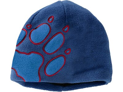 JACK WOLFSKIN Kinder Front Paw Hat Blau