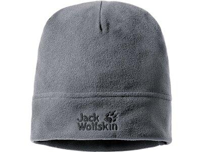 JACK WOLFSKIN Mütze REAL STUFF CAP Grau