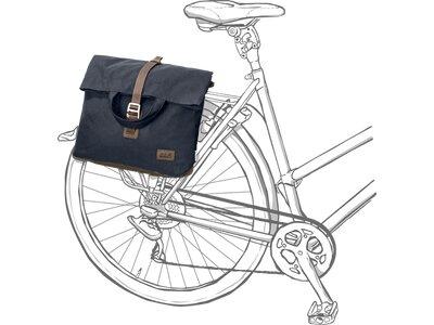 JACK WOLFSKIN Shopper-Bag und Fahrradtasche SOHO RIDE BAG Grau