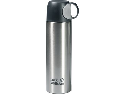 JACK WOLFSKIN THERMO BOTTLE CUP 0,5 Grau