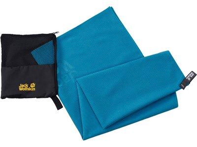 JACK WOLFSKIN GREAT BARRIER TOWEL XL Blau