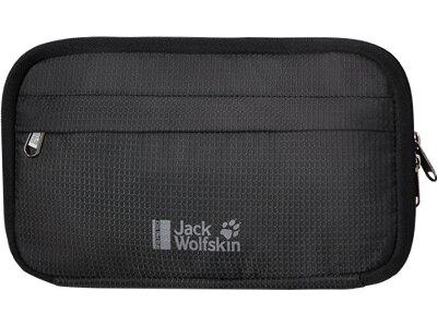 JACK WOLFSKIN Kleintasche BOARDING POUCH RFID Schwarz