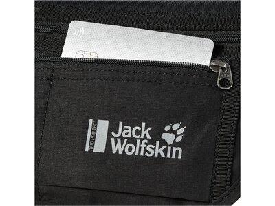 JACK WOLFSKIN Kleintasche DOCUMENT BELT RFID Schwarz