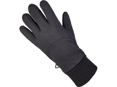 ARECO Softshellhandschuh Microfleece Touch schwarz