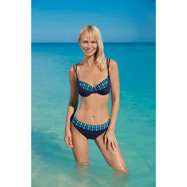 Bademode - SUNFLAIR Damen Bikini › Blau  - Onlineshop Intersport