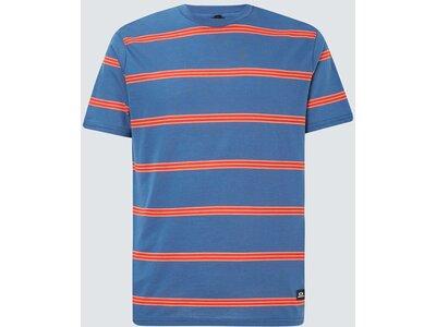OAKLEY Herren Shirt SIX STRIPES SS Blau