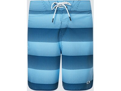 "OAKLEY Herren DOT STRIPES BOARDSHORT 19"" Blau"