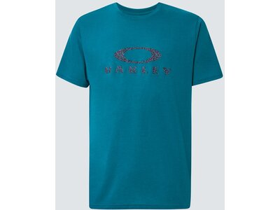 OAKLEY Herren Shirt DOTS OAKLEY ELLIPSE SS Blau