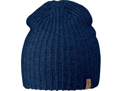 FJÄLLRÄVEN Herren Mütze / Strickmütze Övik Melange Beanie Blau