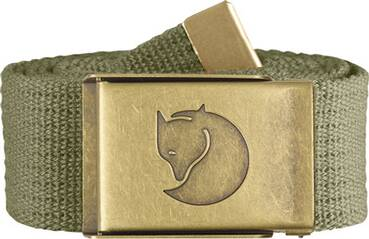 FJÄLLRAVEN  Gürtel Canvas Brass Belt 4 cm