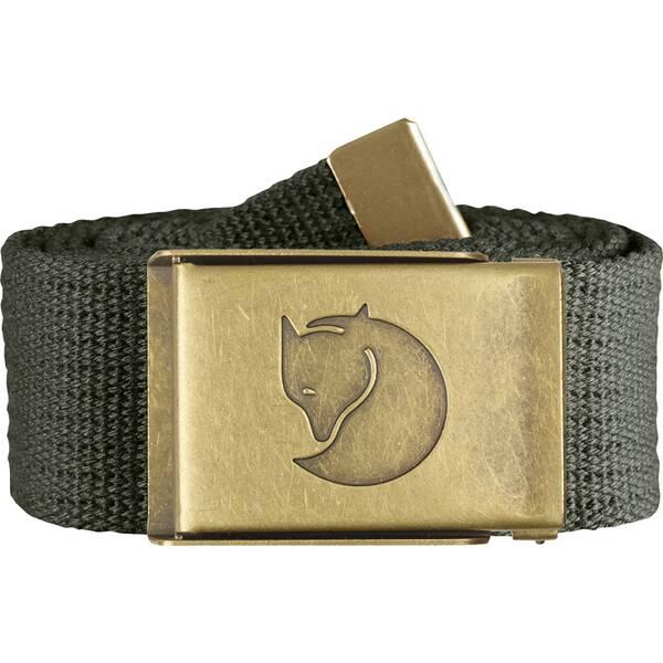 """FJÄLLRÄVEN Gürtel """"Canvas Brass Belt"""""""