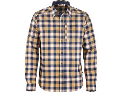 FJÄLLRÄVEN Herren Outdoor-Hemd Fjällglim Shirt M Blau