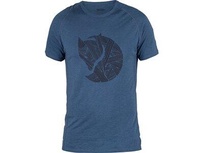FJÄLLRAVEN Herren T-Shirt Abisko Trail T-Shirt Print M Blau