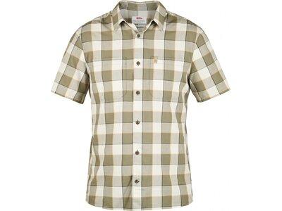FJÄLLRÄVEN Herren Hemd High Coast Big Check Shirt SS Silber