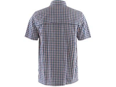 FJÄLLRAVEN Herren T-Shirt Svante Seersucker M Grau