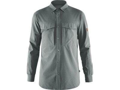 FJÄLLRÄVEN Herren Abisko Trekking Shirt Grau
