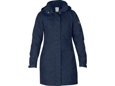 FJÄLLRÄVEN Damen Mantel Una Jacket Blau