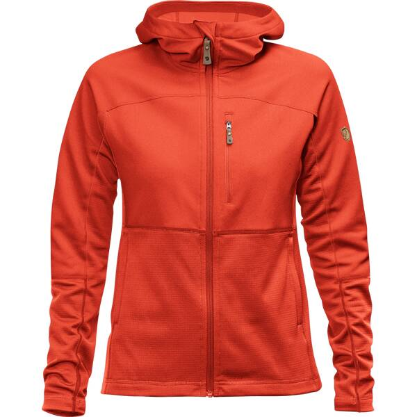 FJÄLLRÄVEN Damen Kapuzensweat Abisko Trail Fleece
