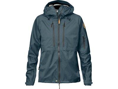 FJÄLLRÄVEN Damen Jacke Keb Eco-Shell Jacket W Grau