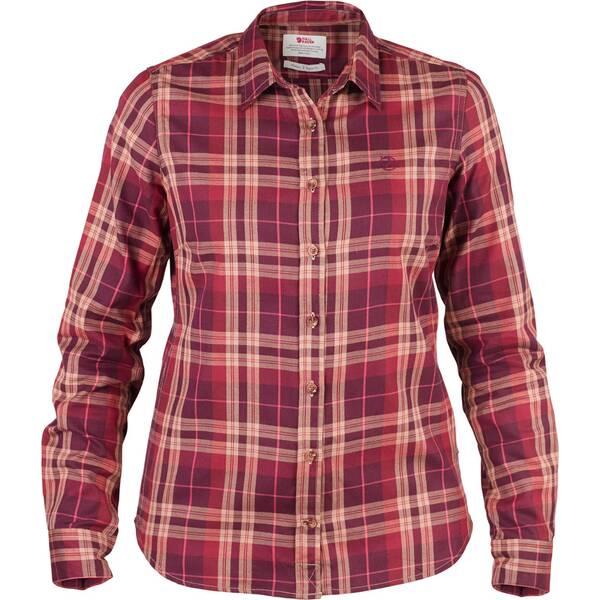 FJÄLLRAVEN Damen Hemd Övik Flannel Shirt LS W
