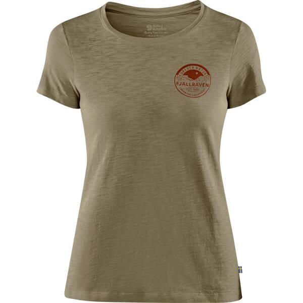 FJÄLLRÄVEN Damen Shirt Forever Nature Badge