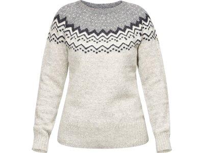 FJÄLLRÄVEN Damen Pullover Övik Knit Sweater W Grau