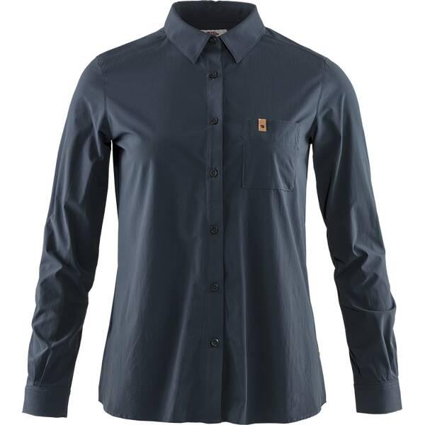 FJÄLLRÄVEN Damen Hemd Övik Lite Shirt LS
