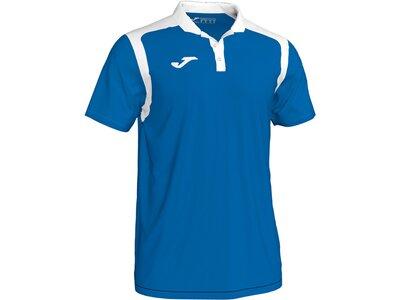 Joma Poloshirt Champion 5 Blau