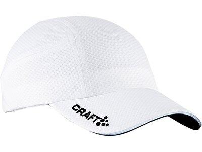 CRAFT Herren Running Cap Weiß