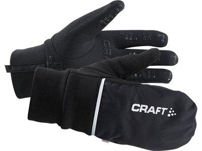 CRAFT Herren Handschuhe HYBRID WEATHER Schwarz
