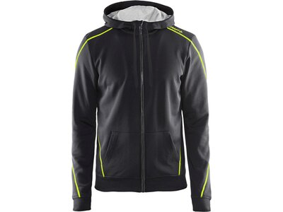 CRAFT Herren Kapuzensweat In-The-Zone Full Zip Hood Grau