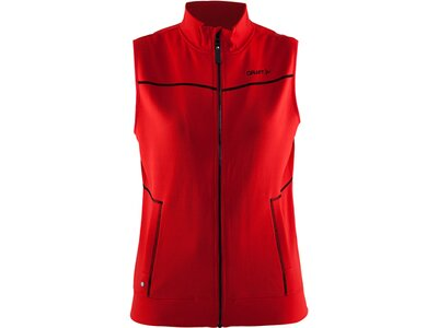 CRAFT Damen Weste In-The-Zone Vest Rot