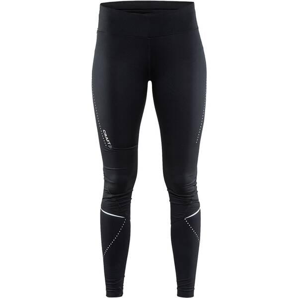 Hosen - CRAFT Damen Essential tights › Schwarz  - Onlineshop Intersport