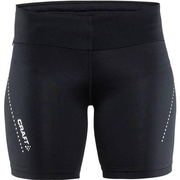Hosen - CRAFT Damen Essential short tights › Schwarz  - Onlineshop Intersport