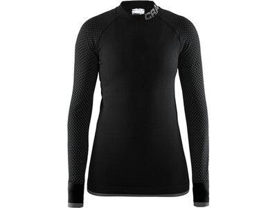CRAFT Damen Unterhemd Warm Intensity CN LS W Schwarz